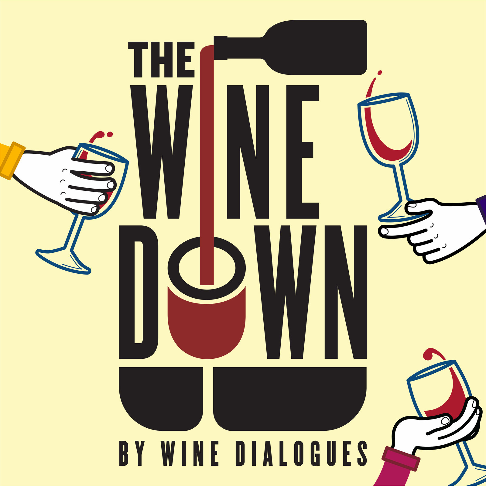 The Wine Down by Win Dialogues Logo